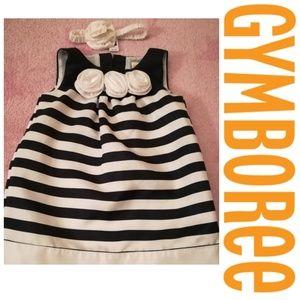 🌸🎉HostPick🎉Blue & White Stripped Dress/Headband